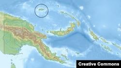 جزیره مانوس در نزدیکی استرالیا