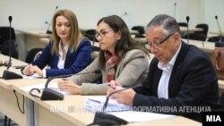 """Gordana Jankuloska na suđenju u slučaju """"Titanik"""""""