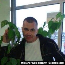 Разведчик Александр Колодяжный (фото со страницы в Facebook)