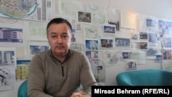 "Mehmed Omeragić iz Arhitektonskog biroa ""Čovjek i prostor"", foto: Mirsad Behram"
