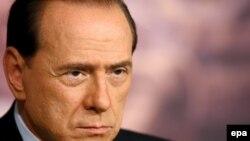 Итальянский премьер-министр Сильвио Берлускони. Рим, апрель 2006