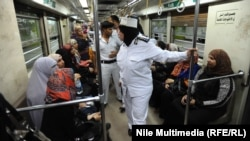 Police found two explosive devices on a metro line in northeast Cairo. (file photo)