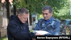 Владимир Скубак и Юрий Цветков
