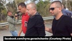 Освобождение украинских заложников Жемчугова и Супруна из плена боевиков