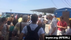 КПП «Каланчак», украинский пункт пропуска