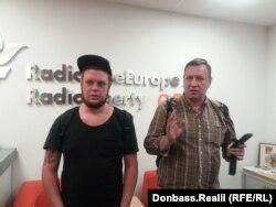 Евгений Спирин, главный редактор интернет-издания theБабель и Андрей Василенко, луганский историк