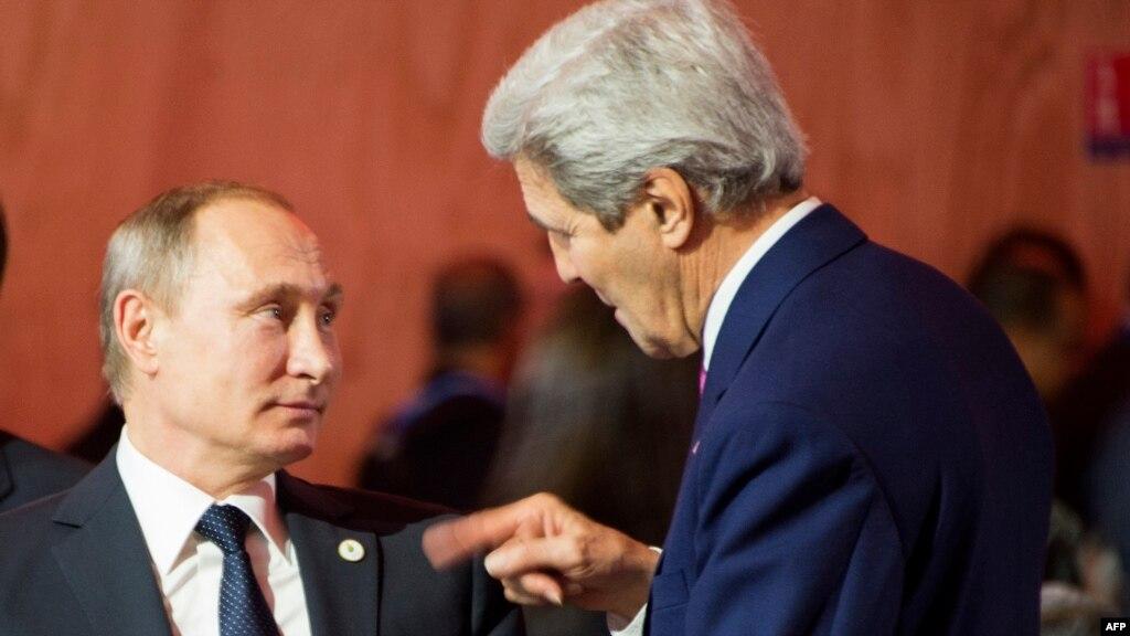 Санкции США будут сняты с РФ после полного выполнения Минских соглашений – Керри