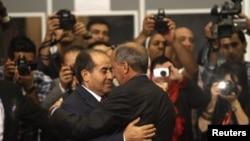 Церемония передачи власти в Ливии