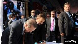 Petkim nəzdində Star neft emalı zavodu müqaviləsini Türkiyə və Azərbaycan prezidentləri imzalayır, 2011-ci il, İzmir