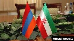 Հայաստանի և Իրանի դրոշները, արխիվ