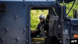 Kosovska policija u akciji 28. maja na severu Kosova
