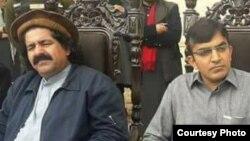 علي وزیر او محسن داوړ