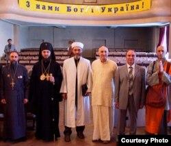 С представителями разных конфессий, 2006 год