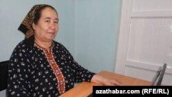 Azatlyk Radiosynyň Türkmenistandaky habarçysy Soltan Açylowa