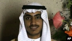 Hamza bin Laden is seen as an adult at his wedding, undated -- Released recently