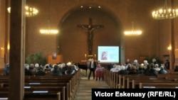 La concertul omagial în biserica Sf. Markus de la Mannhei