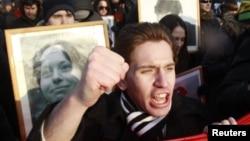 Антифашистский митинг 19 января 2013, Москва