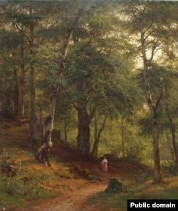 Іван Шышкін, «Па грыбы» (1887)