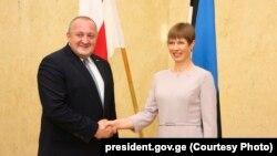 Георгий Маргвелашвили и Керсти Кальюлайд