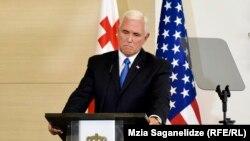 Vicepreședintele Mike Pence astăzi la Tbilisi
