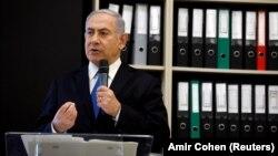 Израиль премьер-министрі Биньямин Нетаньяху.