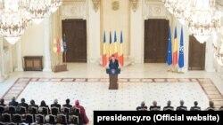 Președintele Klaus Iohannis la întâlnirea anuală cu ambasadorii misiunilor străine acreditate la București