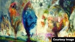 لوحة للفنان يوسف الناصر
