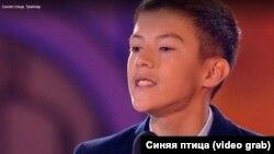 Школьник из Улан-Удэ Андрей Цыдендамбаев