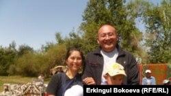 Кыргыз жигити менен жапон кызынын ортосунда куралган үй-бүлө.