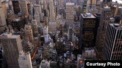 Поглед на Њујорк.
