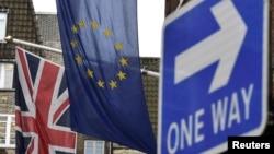 Zastava Velike Britanije i Europske unije, arhiv