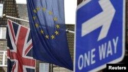 Zastava Velike Britanije i Evropske unije, ilustrativna fotografija