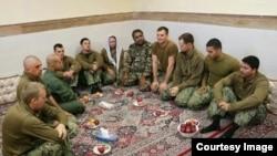 ملوانان آمریکایی که در آبهای خلیج فارس بازداشت شدند