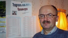 Vladimir Zharuk is campaigning to have pensioners resettled to the south.