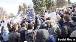 Антикоррупционный митинг в Чебоксарах. 26 марта 2017 года