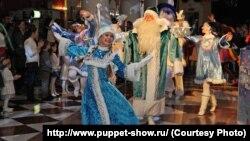 """""""Әкият"""" театрында Яңа ел тамашасы"""