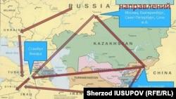 Схема переправки граждан из Кыргызстана в Сирию.
