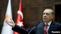 Presidenti turk, Recep Tayyip Erdogan