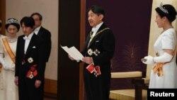 Церемония интронизации императора Японии Нарухито