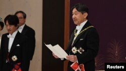 Новый император Японии Нарухито.