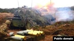 Українські військовослужбовці у зоні бойових дій. Ілюстраційне фото