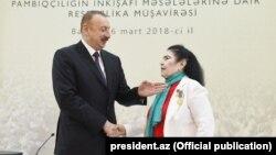 İlham Əliyev və Fatma Hüseynova