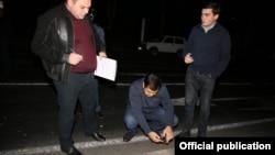 Следователи работают на месте инцидента (фотография Следственного комитета)