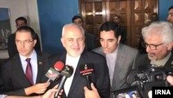 توئیت وزیر خارجه جمهوری اسلامی در جریان سفر وی به ونزوئلا منتشر شده است