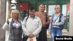 Алексей Сергеев после заседания с представителями Ассоциации незаконно осужденных граждан РФ