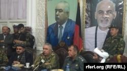 جنرال عبدالرشید دوستم هم د جزئیاتو له ورکولو پرته اندیښته ښودلې وه
