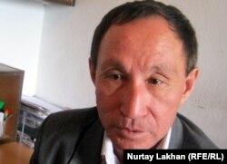 Бұрынғы заңгер Алмат Қалиұлы. Алматы, 18 қазан 2011 жыл.