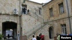 Працы ў гістарычным цэнтры Ерусаліму пасьля выбуху