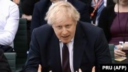 Борис Джонсон, Ұлыбритания сыртқы істер министрі.