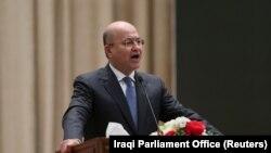 د عراق ولسمشر برهم صالح